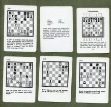 Collectable playing cards  cards game. CHESS.